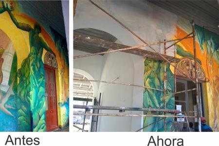 """Grupo de muralistas """"El Puente"""""""