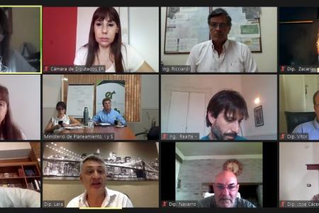 comisión de energía diputados
