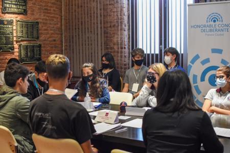 El lunes sesionará el Concejo Deliberante Estudiantil