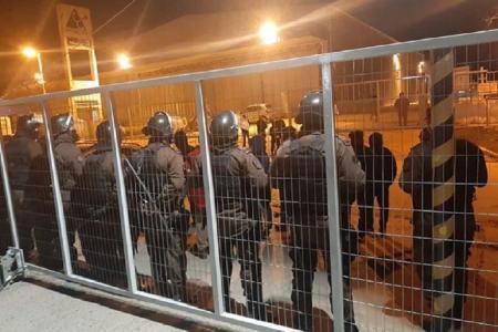 Resyder con custodia policial