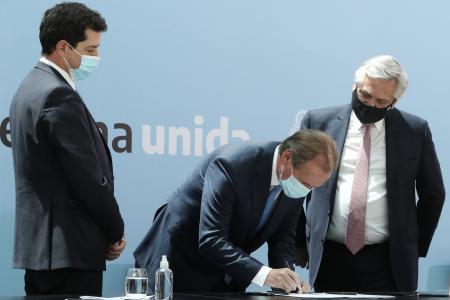 """Bordet sostuvo que el Consenso Fiscal 2020 """"dará previsibilidad"""" a la provincia"""