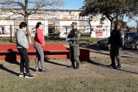 controles circulación Concepción del Uruguay