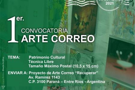 Primera Convocatoria de Arte Correo sobre Patrimonio Cultural