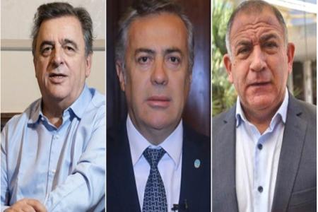 Cornejo, Negri y Juez serán los candidatos en Mendoza y Córdoba