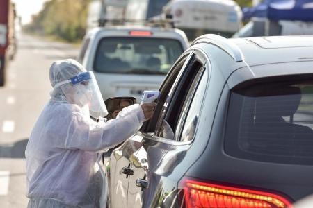 coronavirus control de tránsito