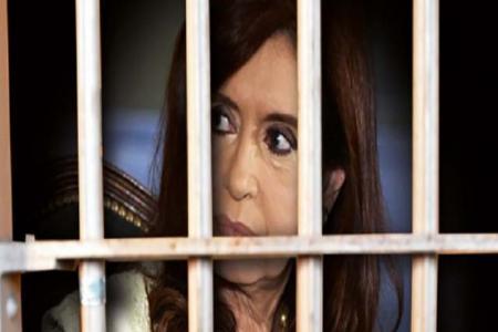 Cristina Fernández presa