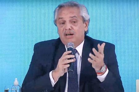 Alberto Fernández será uno de los expositores en Davos.