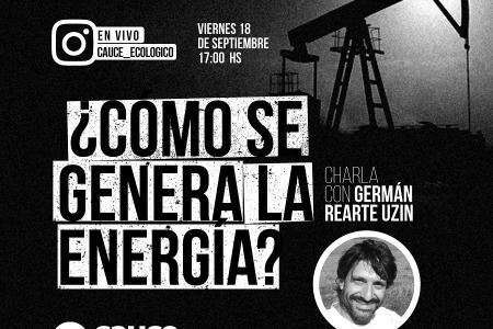 CAUCE charla sobre energías