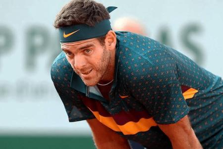 Tenis: Del Potro se bajó de la exhibición ante Federer  y lo reemplazará Zverev