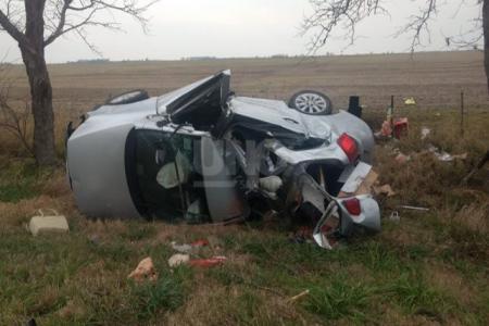 accidente ruta nacional 19 Clucellas