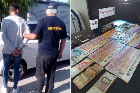 """Un jugador de Sportivo Urquiza fue detenido por un caso del """"cuento del tío"""""""