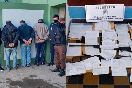 detenidos por explotación sexual