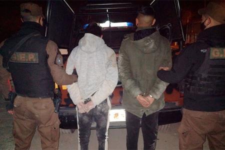 ladrones detenidos
