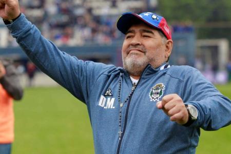 Gimnasia La Plata celebra su aniversario con la continuidad de Diego Maradona