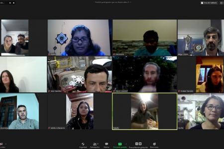 Giano dialogó por videoconferencia con productores y emprendedores de la economía social