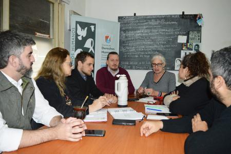 La directora ejecutiva del Sitio de Memoria de la ex ESMA, Alejandra Naftal, estuvo en Concepción del Uruguay.