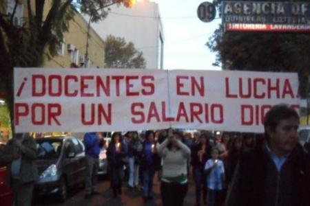 docentes marcha por salarios