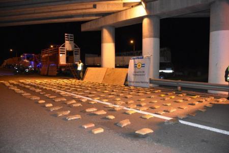 Gualeguaychú: incautaron un cargamento de drogas valuado en más de $18 millones