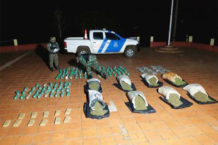 El secuestro de Prefectura Naval se realizó en la localidad de Santa Ana. Dos hombres quedaron detenidos.