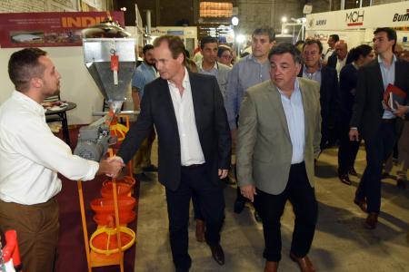 Con la presencia del gobernador se inauguró la Expo Concepción 2019
