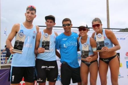 Los entrerrianos Gallay y Azaad ya están en Cancún para disputar el Circuito Mundial