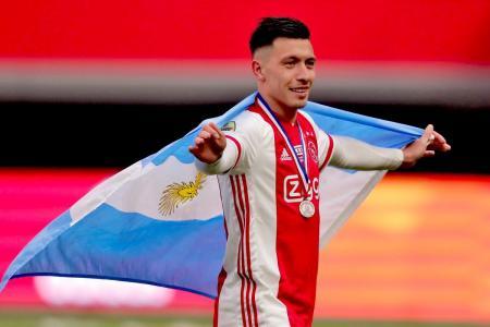 Con el entrerriano Lisandro Martínez, el campeón Ajax festejó ante VVV Venlo