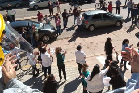 enfermería reclamo en Gualeguaychú