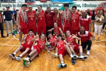 Por sexta vez consecutiva, Paraná se quedó con el título provincial U17 de básquet