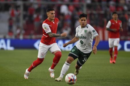 Independiente empató con Sarmiento y ya lleva cinco partidos sin victorias