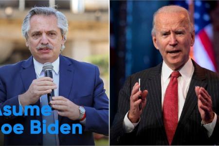 Fernández - Biden
