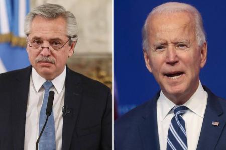Fernández y Biden