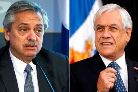Alberto Fernández - Sebastián Piñera
