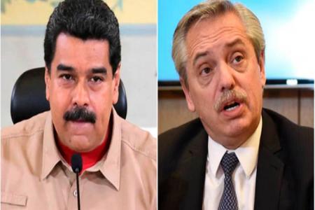 Nicolás Maduro-Alberto Fernández