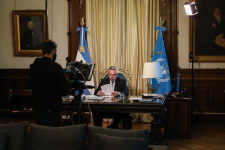 Alberto Fernández discurso en la ONU