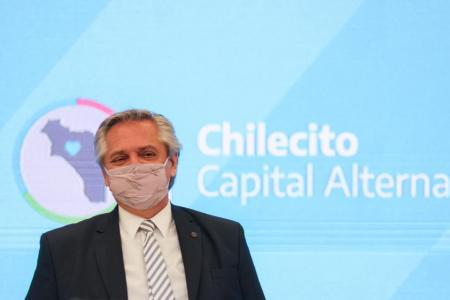 Alberto Fernández en Chilecito Gabinete Federal