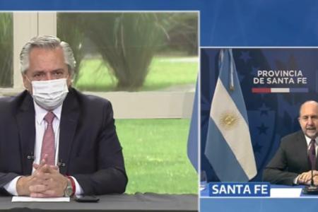Fernández anuncio acueducto biprovincial