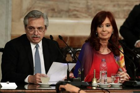 Alberto Fernández y Cristina Kirchner
