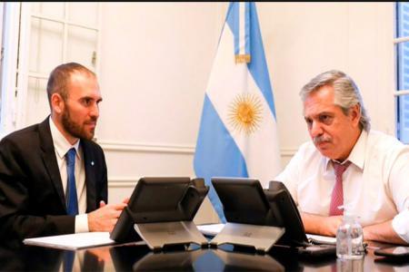 Fernández con Guzmán en Olivos