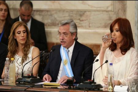 primer discurso de Fernández como Presidente