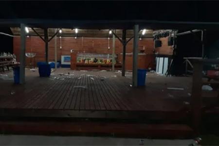 Tenían luces, parlantes y demás elementos de sonido. Intervino la Policía, Habilitaciones municipal y la Fiscalía Federal de Paraná.