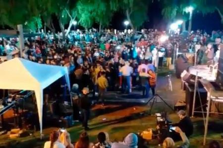 fiesta sin protocolo Santa Elena