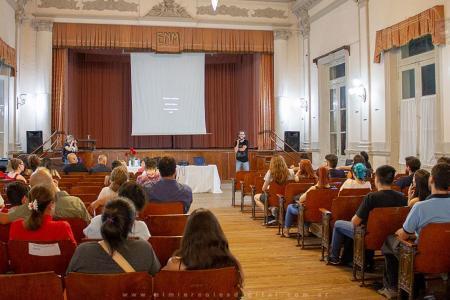 """El Profesorado en Filosofía de la Escuela Normal Superior Mariano Moreno de Concepción del Uruguay, conmemoró el jueves pasado el """"Día Mundial de la Filosofía""""."""