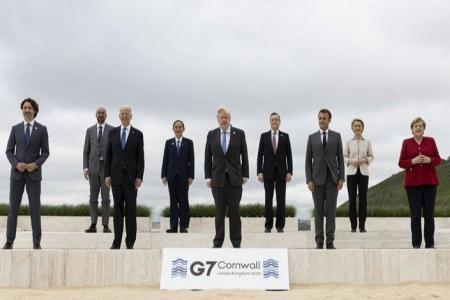 Cumbre G7 en Reino Unido