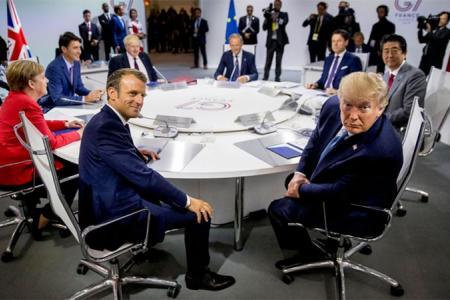 Reunión del G7 en Francia