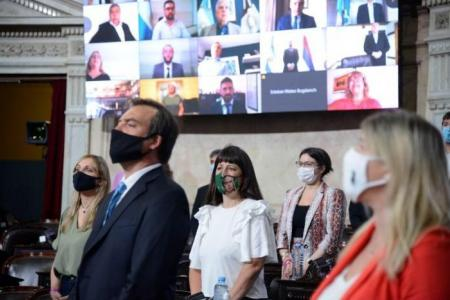 Gaillard celebró el anuncio de Fernández sobre el proyecto de regulación del cannabis