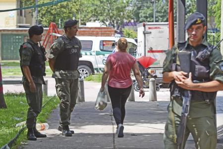 Gendarmería en Rosario