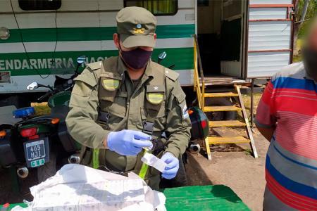 Gendarmería Concordia secuestro anabólicos
