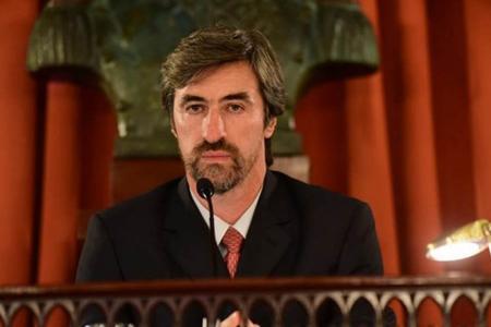 Ángel Giano es presidente de la Cámara de Diputados de la provincia.