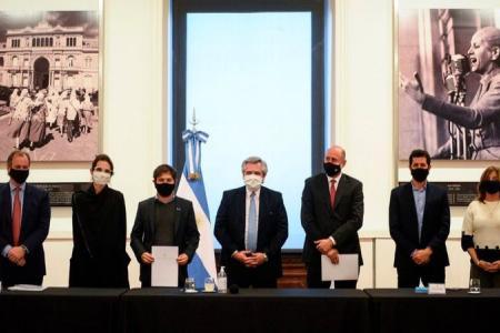 Los gobernadores y la CGT le propondrán a Alberto que asuma la presidencia del PJ