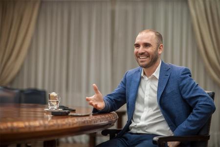 """""""Decir que hay ajuste es una crítica absolutamente infundada"""", afirma el ministro de Economía, Martín Guzmán."""